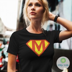Marškinėliai: Super mama IS83M