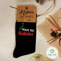 Kojinės: Man tai kalėdos...