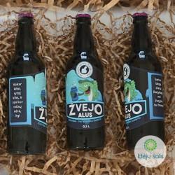 Žvejo alaus etiketė IS520