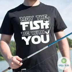 Marškinėliai: May the fish...