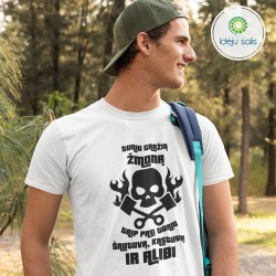 Marškinėliai: Turiu gražią žmoną IS569