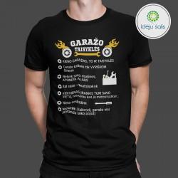 Marškinėliai: Garažo...