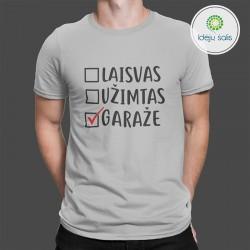 Marškinėliai: Garaže IS493