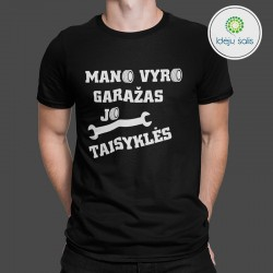 Marškinėliai: Mano vyro...