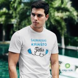 Marškinėliai: Šauniausias...