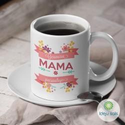Puodelis: Geriausia mama...