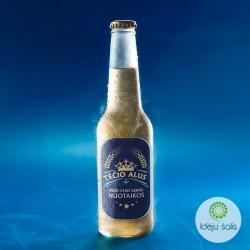 Etiketė: Tėčio alaus mėlyna...