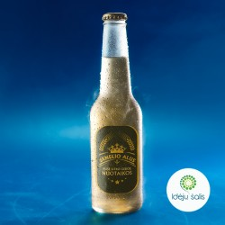 Etiketė: Senelio alus ruda...