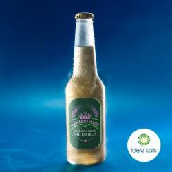 Etiketė: Senelio alus žalia...